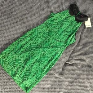 NWT Boutique Green Lace Dress